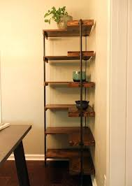 Corner Shelves For Sale Corner Furniture Units Rustic Industrial Free Standing Corner 5
