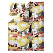 yellow and grey duvet covers uk rose moomin yellow duvet cover 150 x 210 cm by