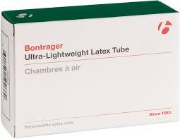 Bontrager <b>Ultra</b>-<b>Lightweight</b> Latex Presta Valve <b>Bicycle</b> Tube - Brick ...