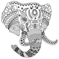 Art Doodle Artstation Elephant Doodle Art Darrin Smith