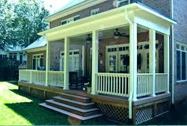 back porch ideas for mobile homes covered patio d20 porch