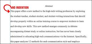 format the abstract page in apa style th edition hubpages paragraph indention