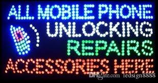 Wholesale Business Led Cell Phone Repairs Direct Selling Led Sign