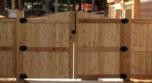 wood fence double gate. Wood Fence Door Design Stunning Wooden Gate With Double Home Interior R