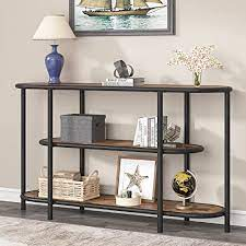 tribesigns industrial console table