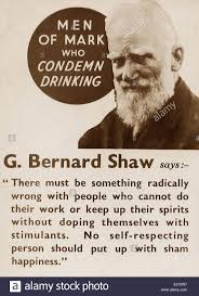 bernard shaw stock photos bernard shaw stock images alamy temperance message george bernard shaw early 1900s stock image