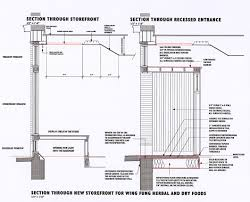 exterior wall tile installation details. hull storefront details exterior wall tile installation