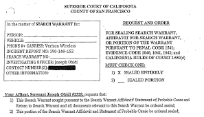 Sfpd Didnt Tell Judge That Reporter In Adachi Case Was A