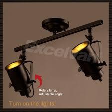 Kitchen Track Lighting Kits Excelvan 2 Light Adjustable Track Lighting Kit Wall Ceiling Lamp