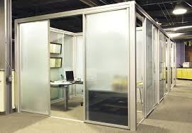 office cubicle door. Sliding Cubicle Door Office Workspace Glass Panels  L