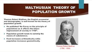 world human population growth through history malthusian theory of population