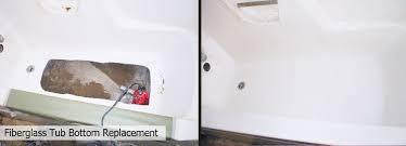 bathtub repair replace bathtub bottom