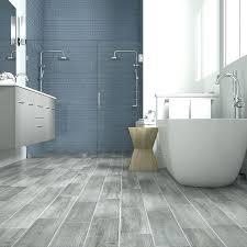 wood tile flooring in bathroom. Gray Wood Floor Bathroom Look Tile Flooring French Blue Shower With In