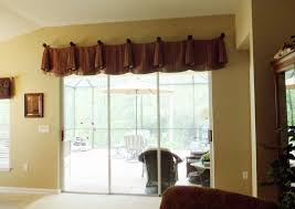 luxury valance for sliding glass door patio grande room living kitchen bedroom bay window bed with