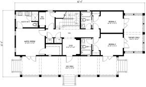 Houseplans.com Beach Main Floor Plan Plan #443 4