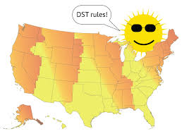 Oklahoma Sunset Chart Where To Hate Daylight Saving Time And Where To Love It