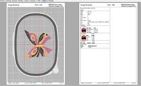 Bernina Comparison Chart Lesson 30 Bernina Embroidery Software V8 Calculating