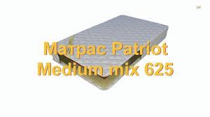 <b>Матрас Patriot Medium</b> Mix 625 / <b>Патриот Медиум</b> Микс 625 ...