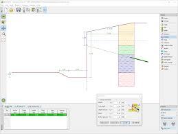 Pile Design Spreadsheet Sheeting Design Geotechnical Software Geo5 Fine