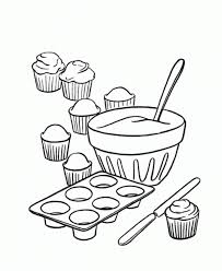 Small Picture Cupcake Coloring Pages For Kids Coloring Pages