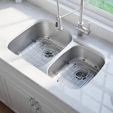 35 X 21 Double Basin Undermount Kitchen Sink With Noisedefend