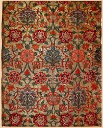 Persian Design Fabric Safavid Floral Textile Of The 16th And 17th Centuries