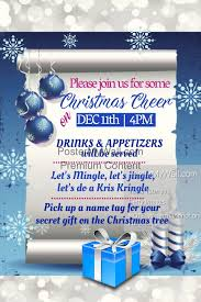 office party flyer office christmas party flyer template postermywall