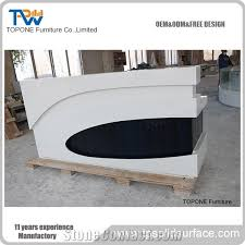 desk tops furniture. beautiful tops desk tops furniture led acrylic solid surface reception for  hotelcustomized design modern front for desk tops furniture