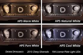 2018 Silverado License Plate Light Bulb License Plate Leds For 1999 2019 Chevrolet Silverado Pair