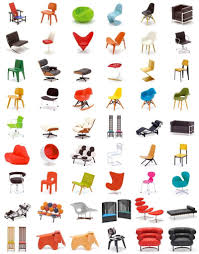 iconic furniture designers. Designer Chair Collection - 42 Perfect 1/12 ReplicasCool. Iconic Furniture Designers G