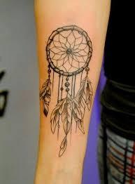 Dream Catcher Tattoo On Forearm Interesting Grey And Black Dreamcatcher Tattoo On Right Forearm Tats