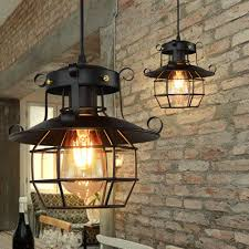Details About Vintage Industrial Style Metal Fishermans Cage Ceiling Pendant Light Lamp Shades