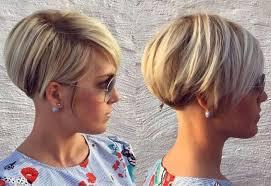 Short Hairstyles 2017 Womens Mikado Podkova Coupe Courte Blonde