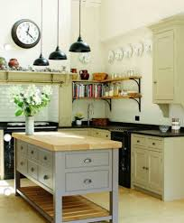 Small Decorative Plates English Country Kitchens With Neutral Colours And Small Island