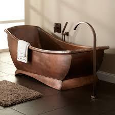 Image of: Modern Copper Bathtub