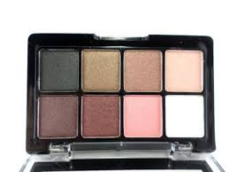 get ations new travel professional makeup palette 8 2 color shimmer eyeshadow paletteiv with brush mirror