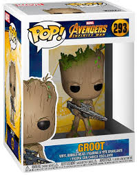 <b>Фигурка Funko POP</b>! Bobble: Marvel: <b>Avengers Infinity</b> War: Groot
