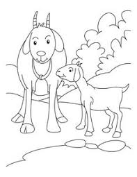 Small Picture Free goat coloring page from Super Simple Learning Tons of free