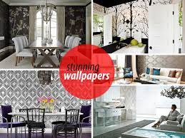 Wallpapering For A Living Room 20 Eye Catching Wallpapered Rooms