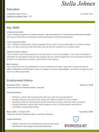 10 College Resume Examples For Seniors In High School