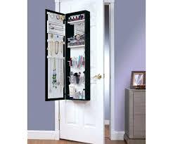 over the door storage mirror impressive over door beauty and full length mirror makeup ideas storage