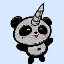 Nei negozi e online su ikea.it. Embroidery Digital Pattern Simil Pandacorno Me Contro Te Etsy
