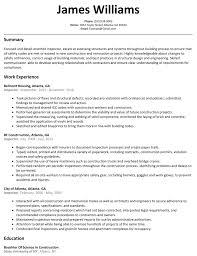 Inspector Resume Sample Resumelift Com