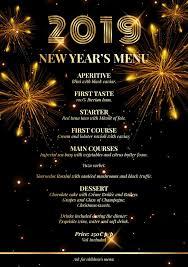 New Year Menu New Year Eve 2019 Menu Kitch Restaurant Lounge