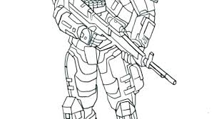Free Online Halo Coloring Pages Team Of Halo Spartan Coloring Page