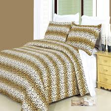 cheetah queen duvet cover set 100 cotton 300 thread count tap to expand