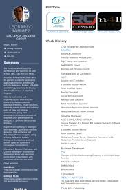 Ideas Collection Enterprise Architect Resume Samples About ...