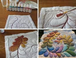 get familiar with painting fabric for your quilts painting quilts is a great way to add artistic flair to your fabric either before or after quilting