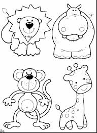 Small Picture fantastic zoo animals coloring pages with animal color pages