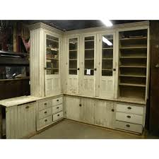 Antique Butlers Pantry Cabinet